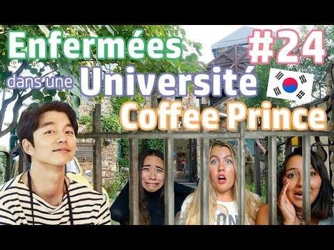 VLOG 24: ENFERMÉES DANS UNE UNIVERSITÉ, COFFEE PRINCE & DES CROCS - SEOUL | HD VFT