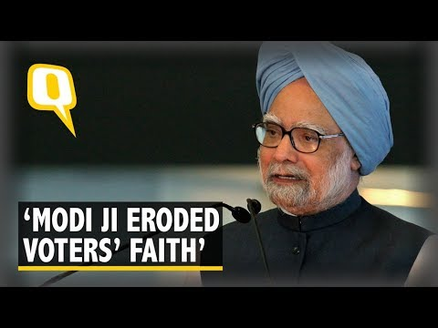 Narendra Modi Is A Paradoxical Prime Minister Manmohan Singh Youtube