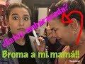 BROMA A MI MAMA (NIURKA) *ESTOY EMBARAZADA* ME DEJO DE HABLAR! / Romi Marcos