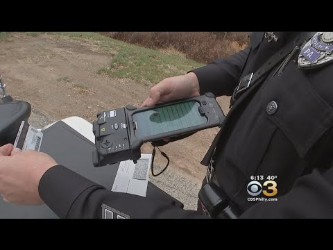 Radnor Township Police Use Technology To Speed Up Ticketing Process