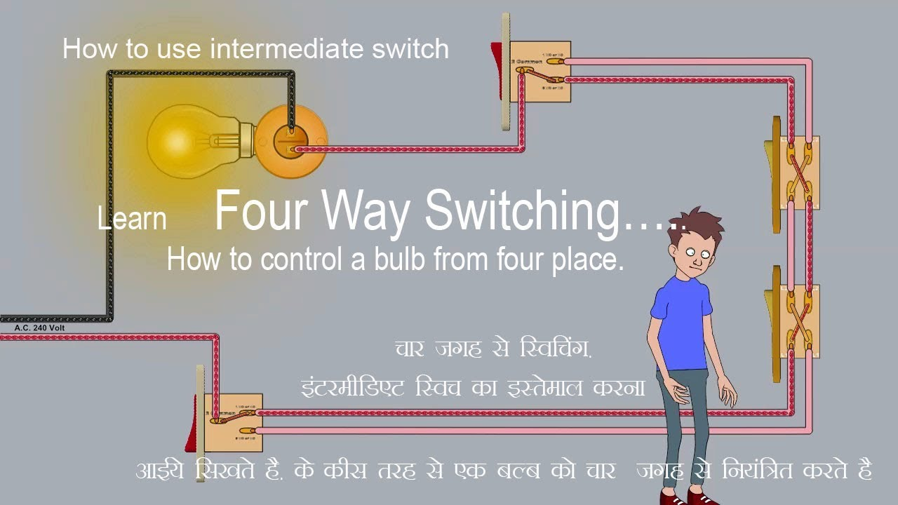 Four Way Switching Youtube Switch