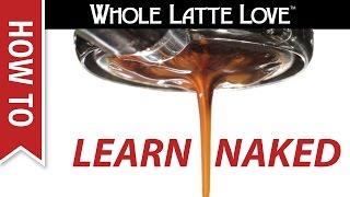 How To Use a Bottomless Portafilter to Improve Espresso Technique