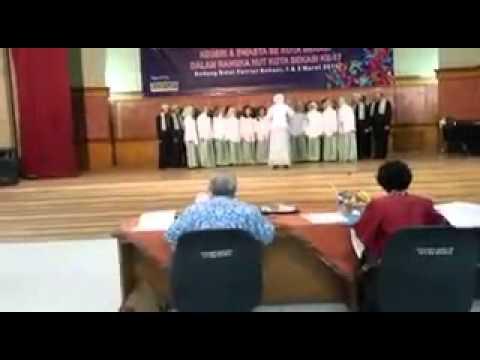 Mars Kota Bekasi - Sagatri Choir (SMAN 3 Bekasi)
