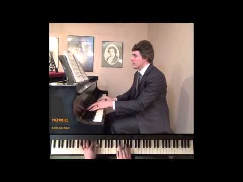 "Beethoven Sonata No. 8 in C minor, Op. 13, ""Pathetique"" - ProPractice by Josh Wright"