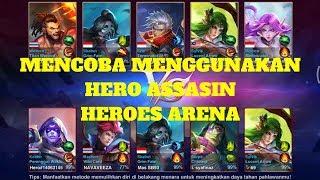 COBA PAKAI ASSASIN SKALRET DI HEROES ARENA : Heroes Arena (Arena Pahlawan)