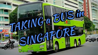 TAKING a BUS in SINGAPORE + FOOD TRIP (YAYA'S OFF DAY)