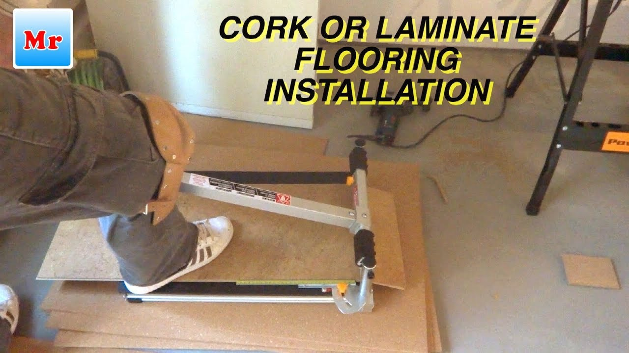 Tips How to Start and Finish Installing Laminate/Cork Flooring in Master  Bedroom