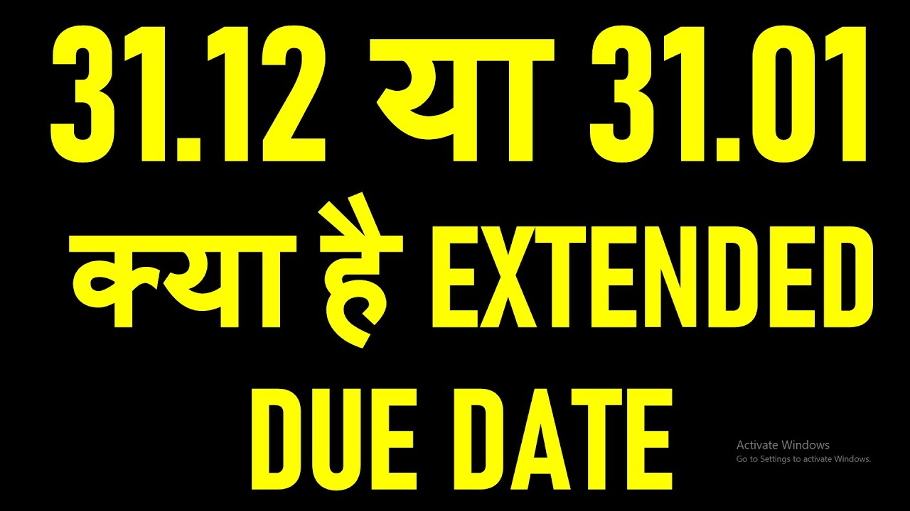 NEW DUE DATES FOR FILING TAX AUDITS AND GST ANNUAL RETURN|DUE DATE EXTENSION TILL 31.01.2021