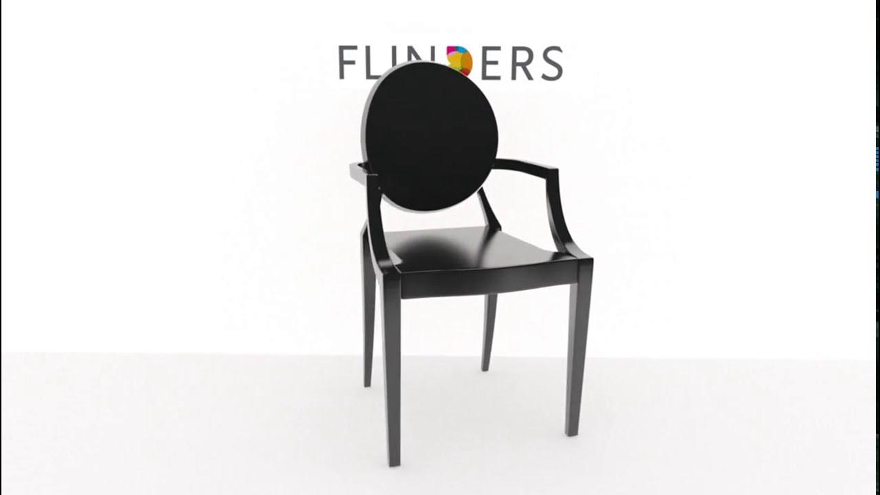 Louis Ghost Stoel : Kartell louis ghost stoel 360 graden video u2013 flinders design youtube