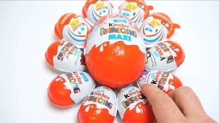 6 Kinder SURPRISE Eggs &  4 Kinder JOY Eggs Kinder & MAXI Egg