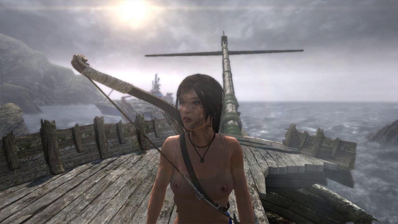 Tomb Raider 2013 Nude mod by ATL 2020 GUERILLA v.3.0 - YouTube