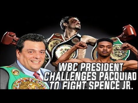 Manny Pacquiao PLEASE fight Errol Spence Jr our WBC Welterweight Champion by Mauricio Sulaiman