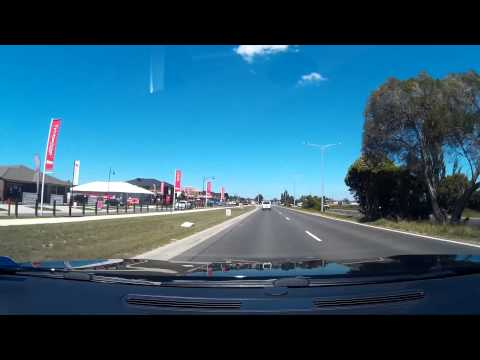 Driving to Salvo Store Pakenham