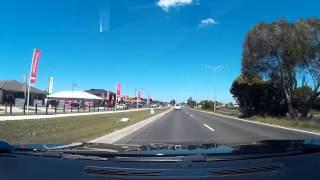 Driving to Salvo Store Pakenham