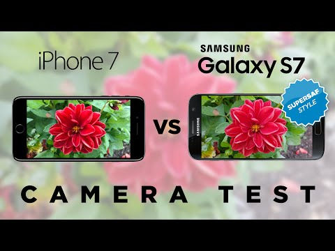 Thumbnail: iPhone 7 vs Samsung Galaxy S7 Camera Test Comparison