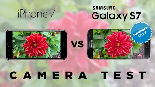 iPhone 7 vs Samsung Galaxy S7 Camera Test Comparison