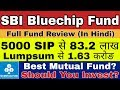 SBI Bluechip fund review in Hindi 2019 | SBI Best Mutual fund 2019 | Best Mutual Funds Review