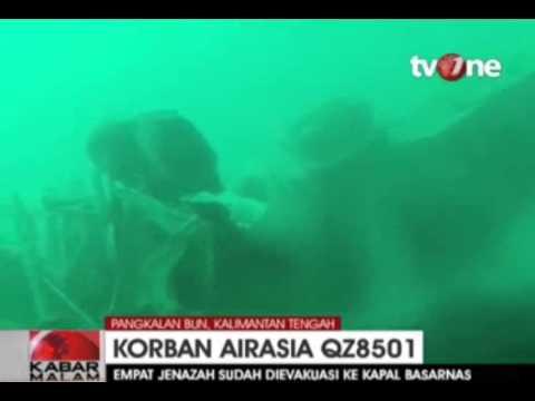 Mayat Pilot Air Asia QZ8501 Ditemukan