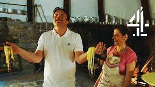Jamie Oliver Struggles To Make One Of Italy