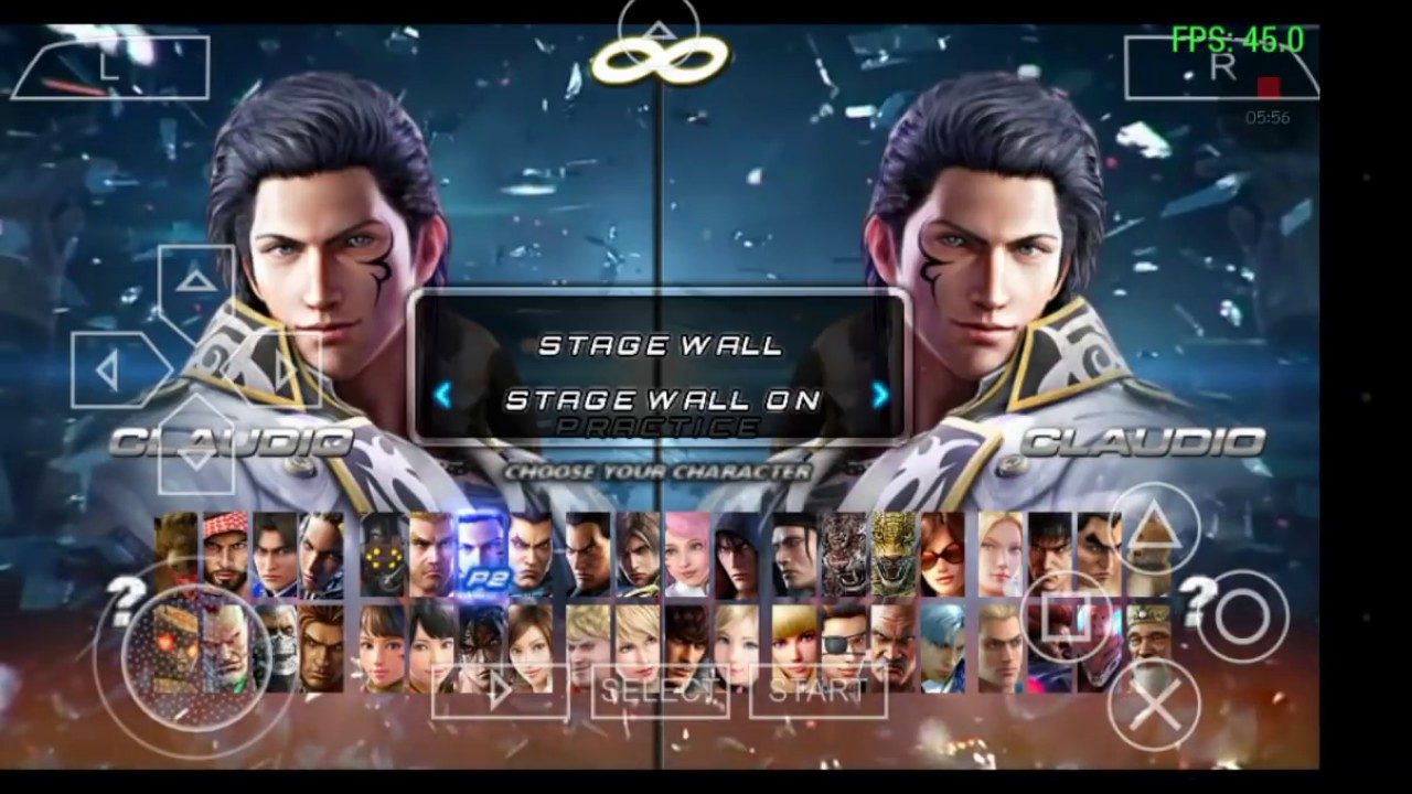 Tekken 7 in Android PSP (ppsspp) Emulator
