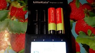 Panasonic NCR18650B 3400 мАч Оригинал ! с защитой тест емкости аккумуляторов