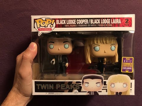 Funko Twin Peaks Black Lodge Dale Cooper & Laura Palmer Unboxing