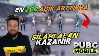 SİLAHI ALAN KAZANIR! DELİRTEN AÇIK ARTTIRMA! PUBG Mobile w @Kızıl Pati