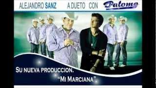 MI MARCIANA-PALOMO a Dueto con ALEJANDRO ZANS 2013.:Tejano Semas:..
