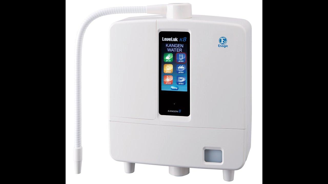 Enagic Leveluk Kangen 8 K8 Machine Introduction -Kangen ...