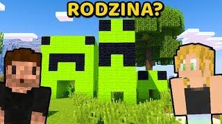 DZIWNA RODZINA CREEPERÓW... - Minecraft | ZIO i AGU
