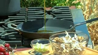 Bringing It Home - Chef Liza Shaw - Bruschetta With Wild Mushrooms, Ricotta And Green Garlic