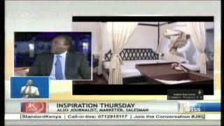 "Jeff Koinange Live [Part 2] From Nyambane the Comedian to being a ""Retired President""."