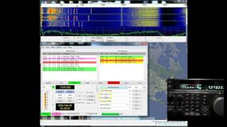 ham radio wsjt x jt65 qso example