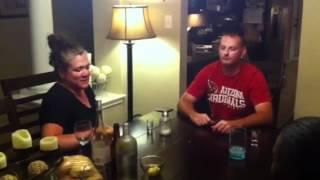 redneck james spitting lemon