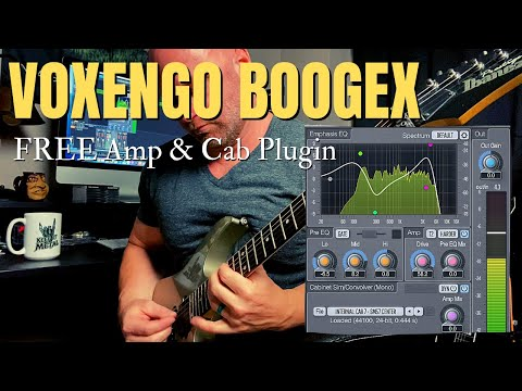 Voxengo Boogex Amp and Cabinet (FREE) Plugin Demo and Review