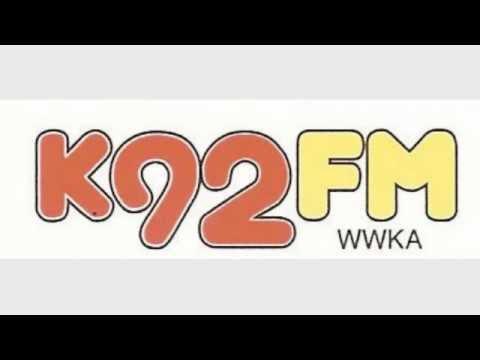 WWKA K92FM Orlando - Ron Bison - 1990