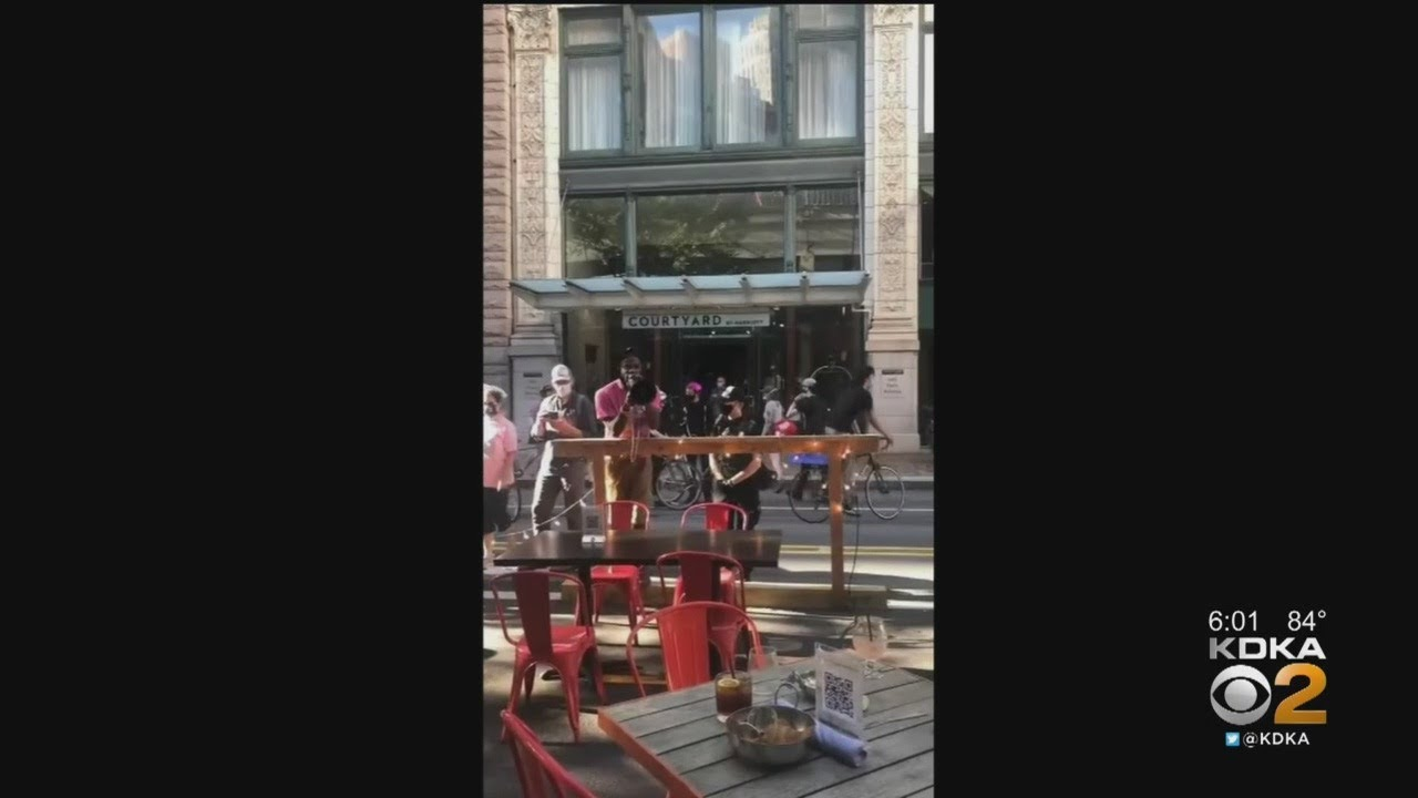 Pittsburgh Public Safety: 'Embarrassing' Viral Video Of Clash Between Protesters, Restaura
