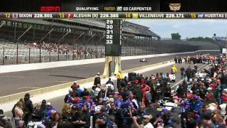 2014 Indianapolis 500 Qualifying Day 1 Part 1