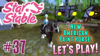 Let's Play Star Stable #37 - NEW American Paint Horse(, 2015-06-04T20:30:33.000Z)