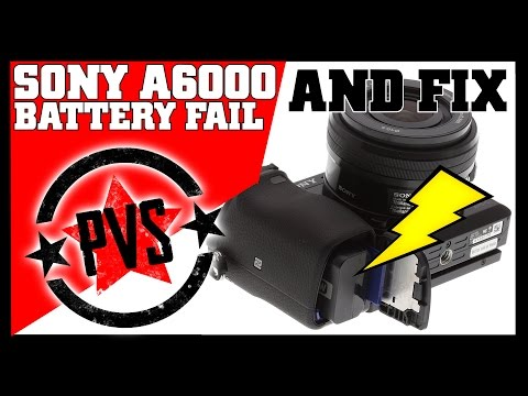 Sony A6000 Mysterious Battery Drain!