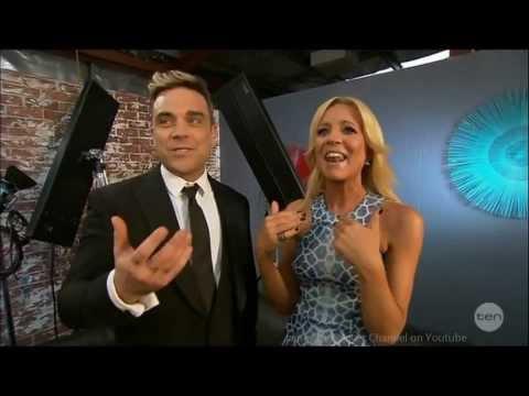Robbie Williams just CAN'T control Himself w/ Aussie Interviewer!