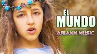 El mundo - Pablo López - ARIANN cover (9 años) con letra