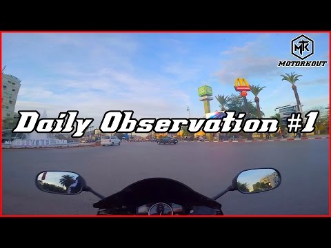 Daily Observations #1 | Yamaha R6 | Morocco