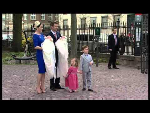 4 Christening of Prince Vincent & Princess Josephine (14 April 2011)