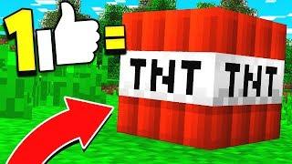 1 LIKE = 1 TNT!