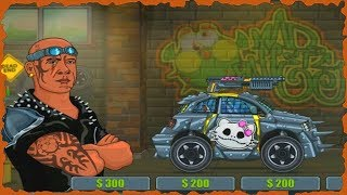 Max Fury Death Racer Full Game Walkthrough All Levels