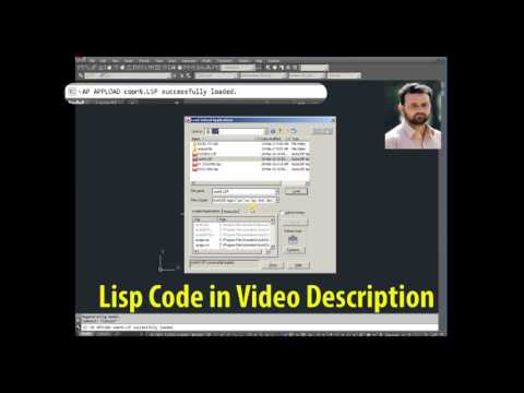 How to Export AutoCAD Coordinates for Points to MS Excel By Using Lisp