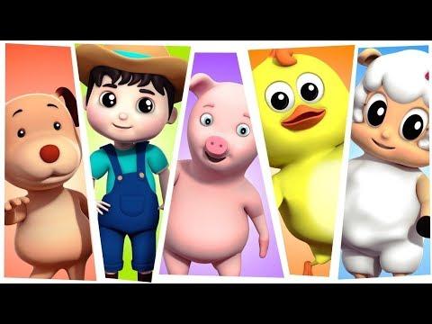 Nursery Rhymes   Best Kids Songs & Cartoon Videos For Children - Farmees