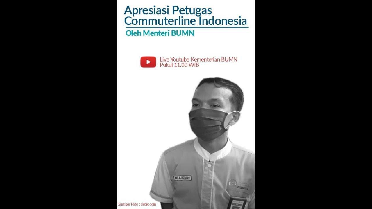 Apresiasi Petugas Commuterline Indonesia