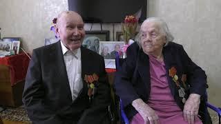 Ветеранам Великой Отечественной войны, супругам Ярусовым, вручили юбилейные медали - Абакан 24